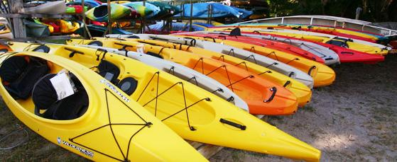 Estero River Outfitters Kayaks
